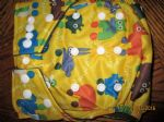 Baby Bum Boutique Basics - Yellow animals